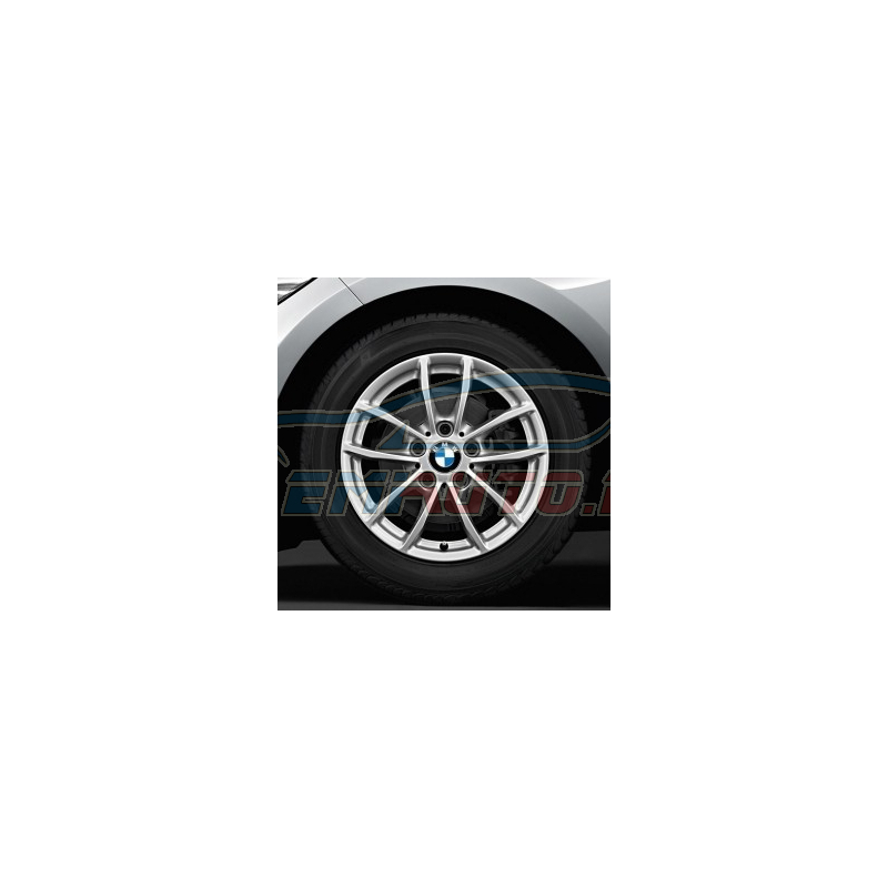 Genuine BMW Light alloy disc wheel Reflexsilber (36316796202)