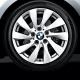 Genuine BMW Light alloy disc wheel Reflexsilber (36116796206)