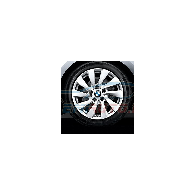 Оригинал BMW Дисковое колесо ЛМ отражающее серебро (36116796206)