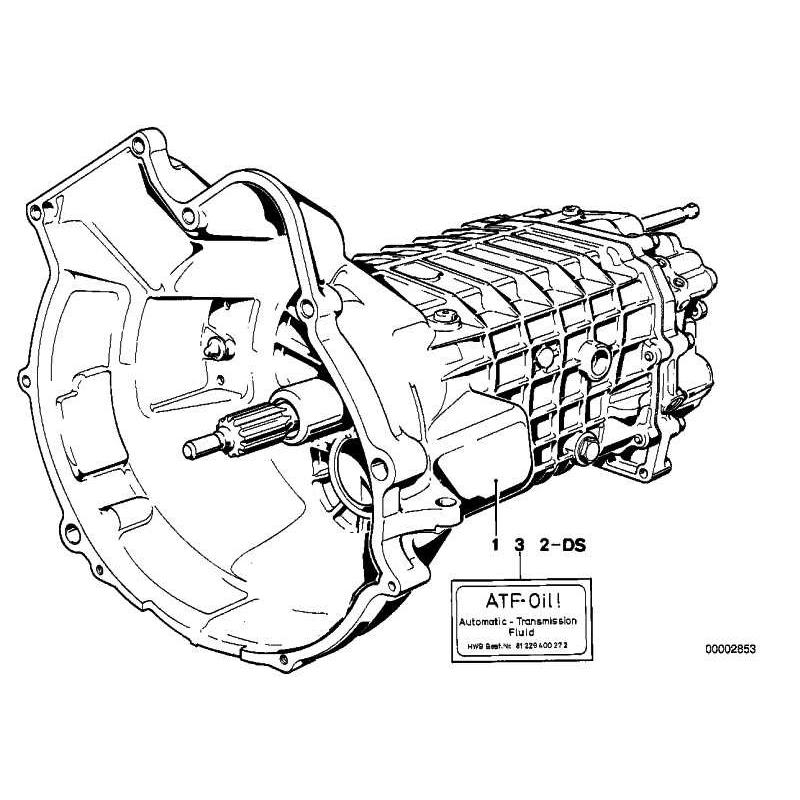 Genuine Bmw Exchange 5 Speed Overdrive Gearbox 23001221205