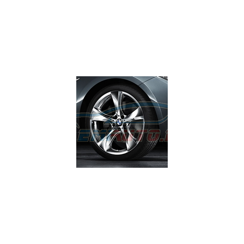 Genuine BMW Light alloy rim, chromium-plated (36116787644)