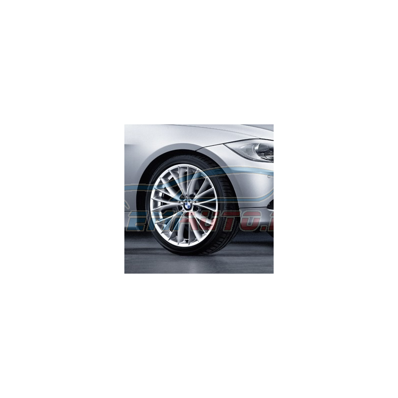 Genuine BMW Disc wheel, light alloy, spacegrau (36116852285)