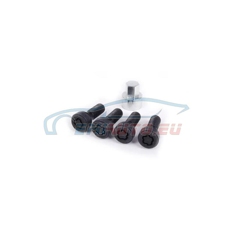 Genuine BMW Set wheel locks (36136797538)