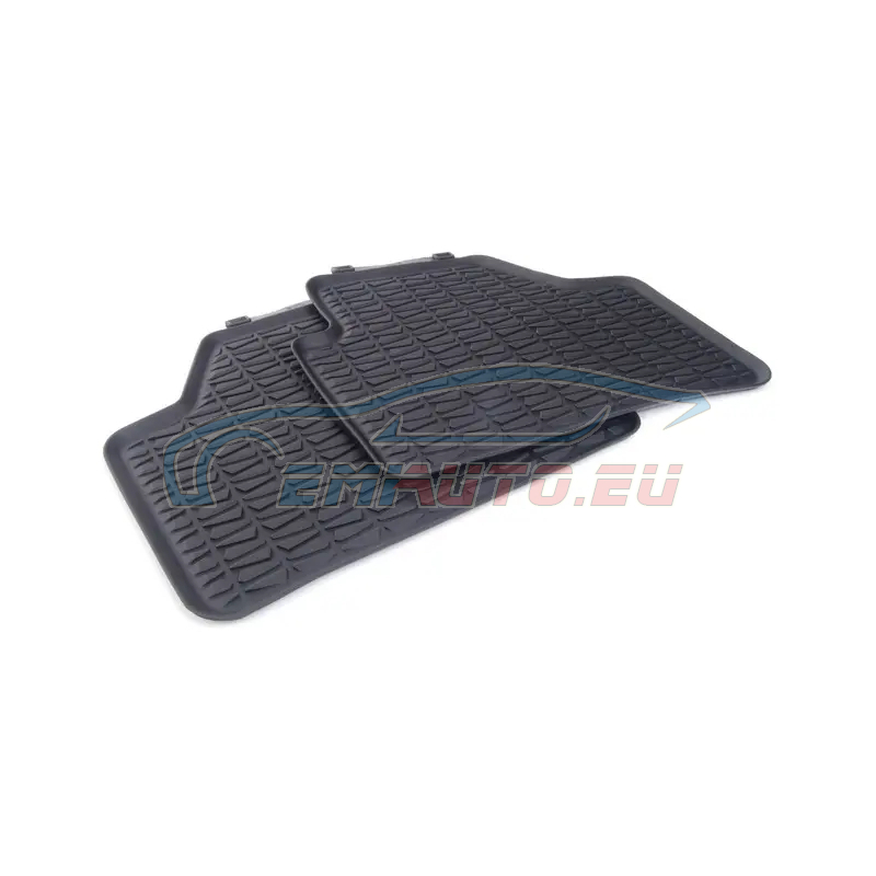 Genuine BMW Floor mats, all-weather rear (51472336795)