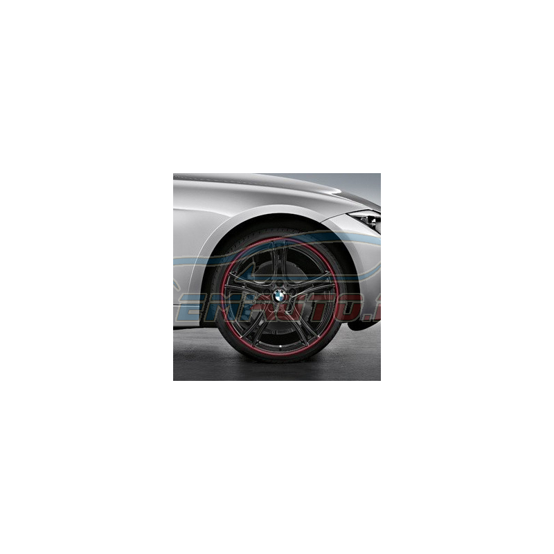 Genuine BMW Light alloy rim, black (36116854612)