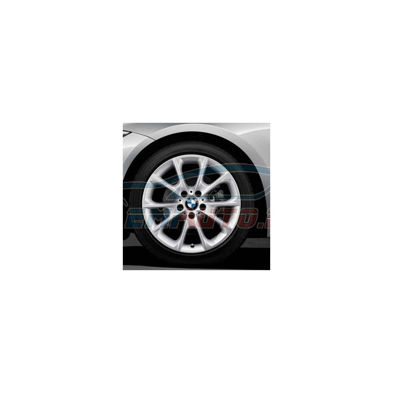 Оригинал BMW Дисковое колесо ЛМ отражающее серебро (36116796250)