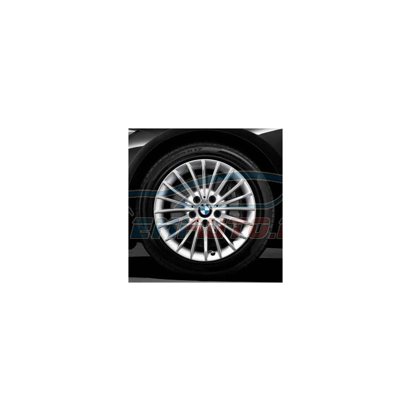 Genuine BMW Disc wheel, light alloy, reflex-silber (36116796241)