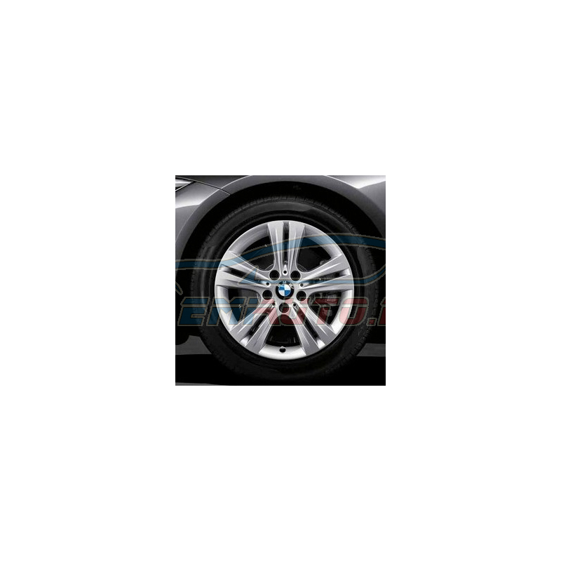 Genuine BMW Disc wheel, light alloy, reflex-silber (36116796239)
