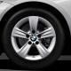 Оригинал BMW Дисковое колесо ЛМ отражающее серебро (36116796237)