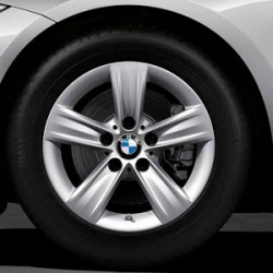 Original BMW Scheibenrad Leichtmetall Reflexsilber (36116796237)