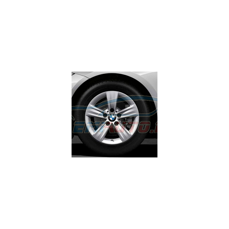 Genuine BMW Light alloy disc wheel Reflexsilber (36116796237)