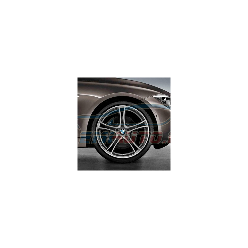 Genuine BMW Disc wheel, light alloy, bright-turned (36116794370)