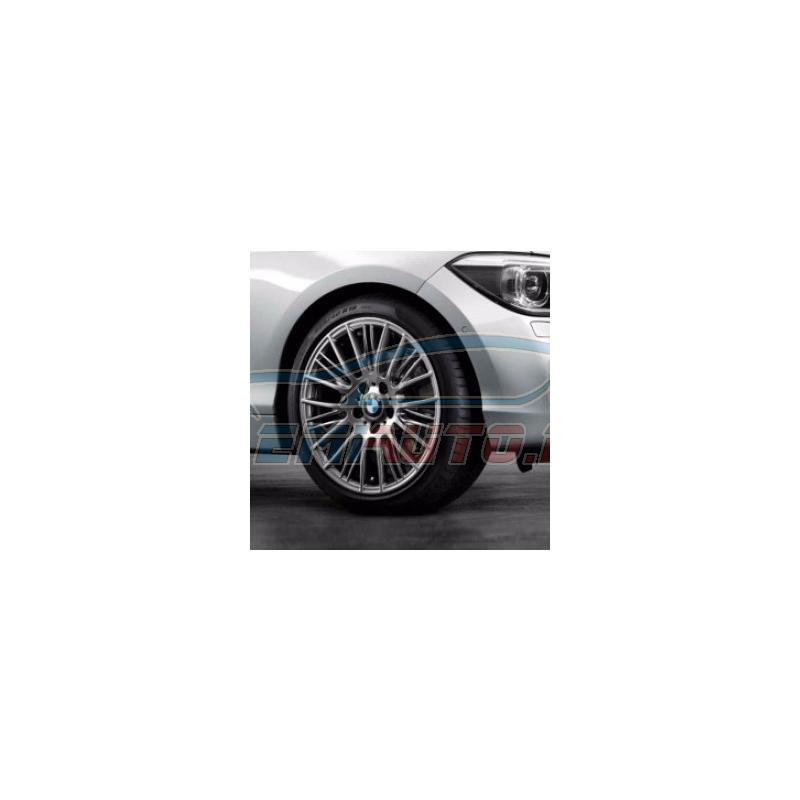 Original BMW Scheibenrad Leichtmetall Ferricgrey (36116796219)