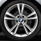 Genuine BMW Light alloy disc wheel Reflexsilber (36116796213)