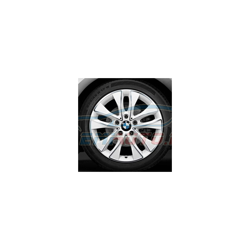 Genuine BMW Disc wheel, light alloy, bright-turned (36116850152)