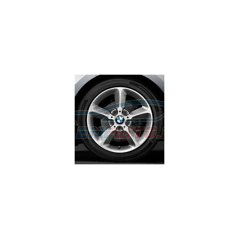 Genuine BMW Disc wheel, light alloy, bright-turned (36116796207)