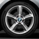 Genuine BMW Disc wheel, light alloy, bright-turned (36116796208)
