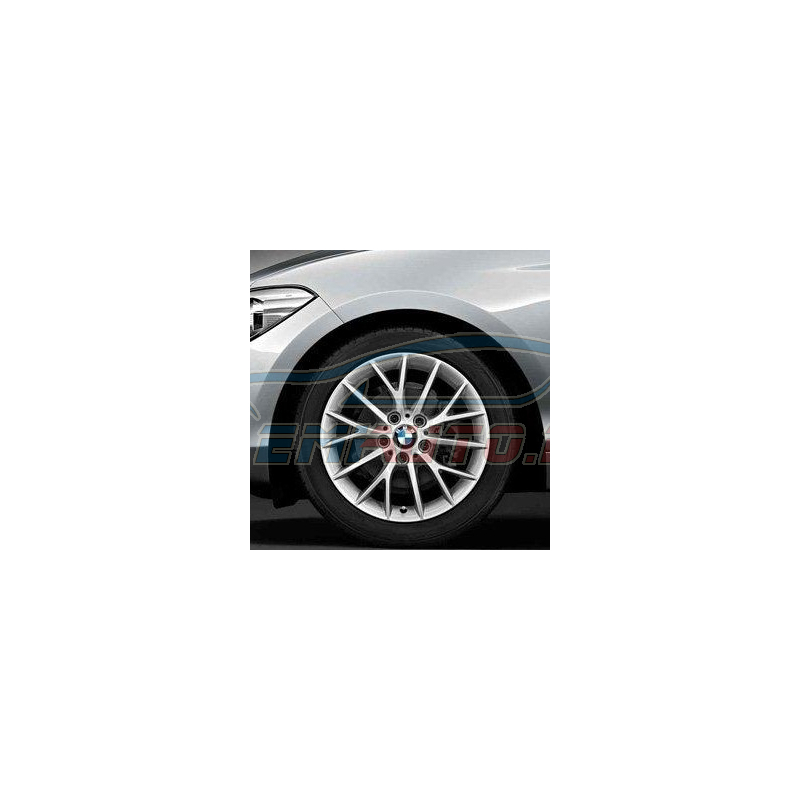 Genuine BMW Light alloy disc wheel Reflexsilber (36316796205)