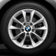 Genuine BMW Light alloy disc wheel Reflexsilber (36116796200)