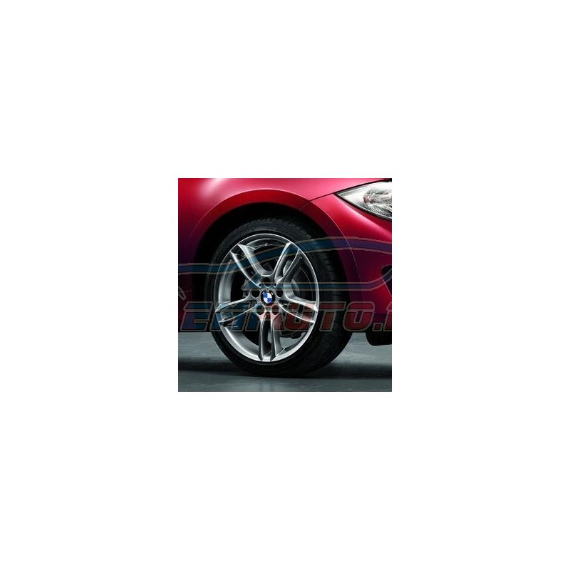 Genuine BMW Light alloy rim Ferricgrey (36117842608)