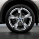 Оригинал BMW Колесный диск легкосплавный хромирован. (36116787640)