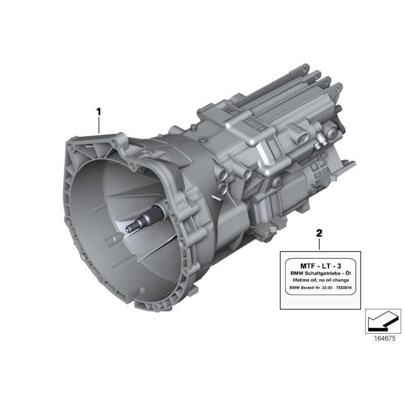 Original Bmw Austausch 6 Gang Getriebe 23007626315 Weltweite