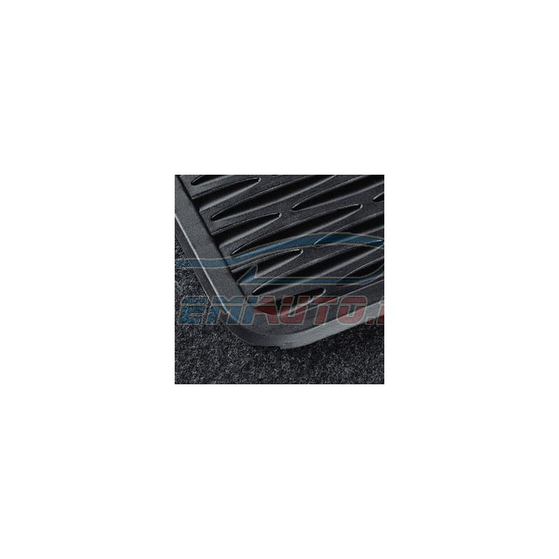 Original BMW Satz Fussmatten Gummi hinten (51470427558)