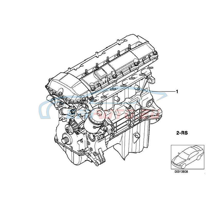 Оригинал BMW Силовой агрегат (11000140992)