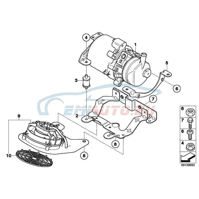 Genuine Mini Exchange power Steering Pump (32416778425)